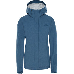 The North Face Venture 2 Jacket Women blue wing teal heather